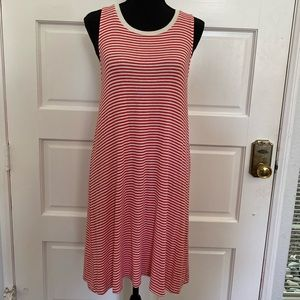 Red and white striped flowy dress by Splendid.
